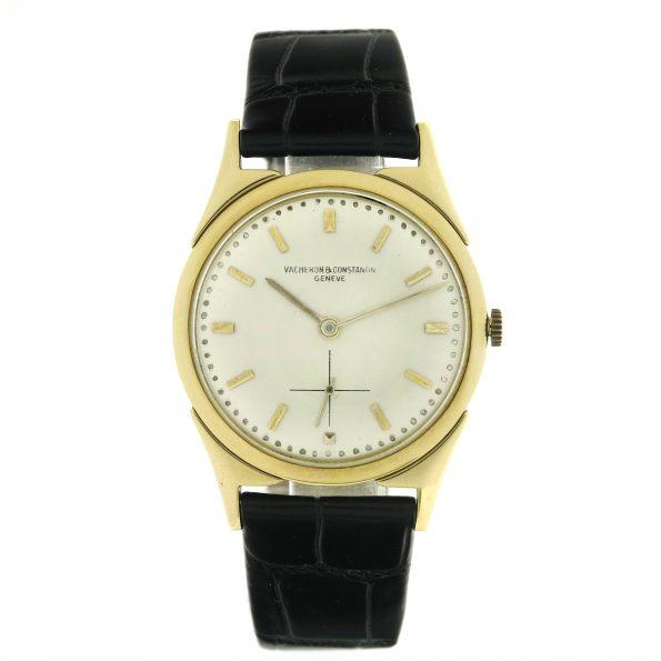 Rare vintage Vacheron Constantin 18K Gold Dress Watch, VC Lugs, Ref.6068, 1950s