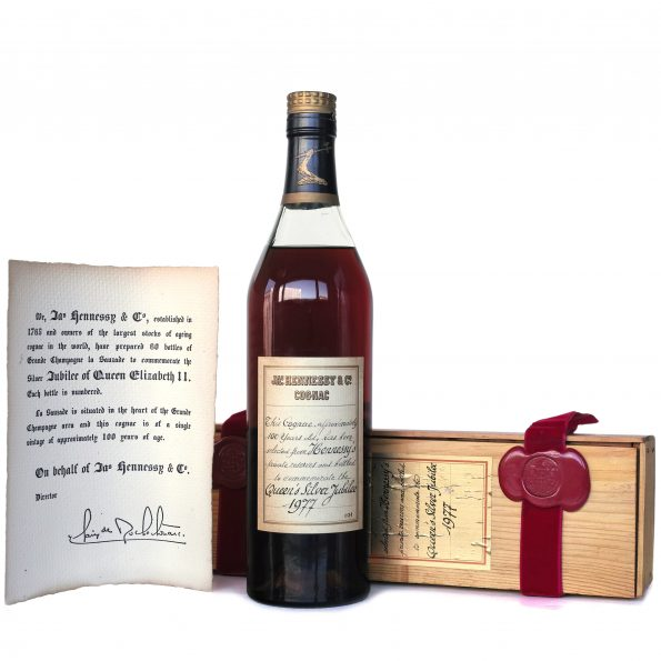 Cognac Hennessy Silver Jubilee of Queen Elizabeth II