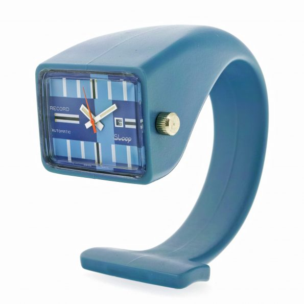 Record Sloop TV-shaped Wristwatch, 1970s