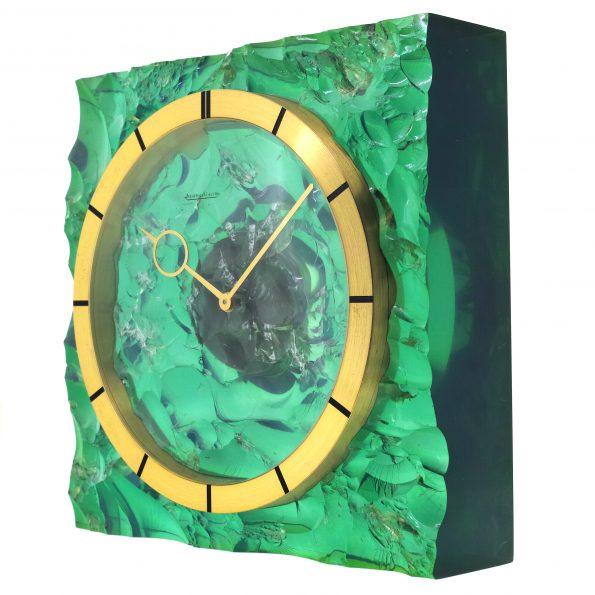 Rare Resin Jaeger-LeCoultre Table Clock
