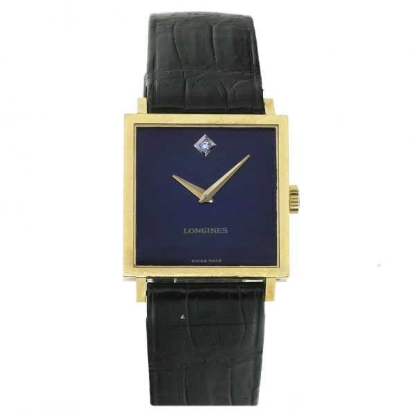 Longines Square 18K dress watch, Ref. 4043, Cal. 528