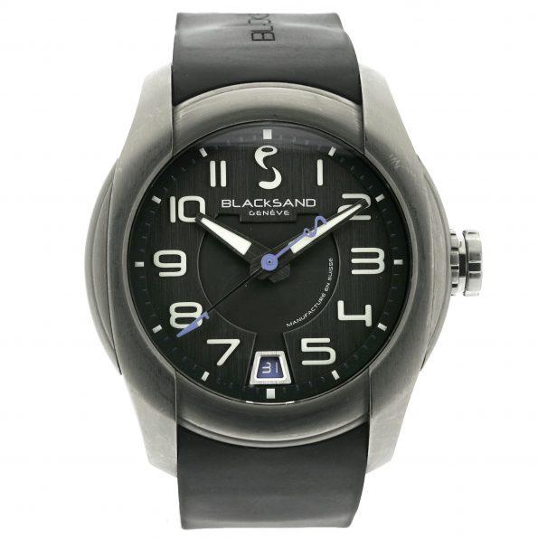 Blacksand Uniformity Stratomatic Titanium Watch