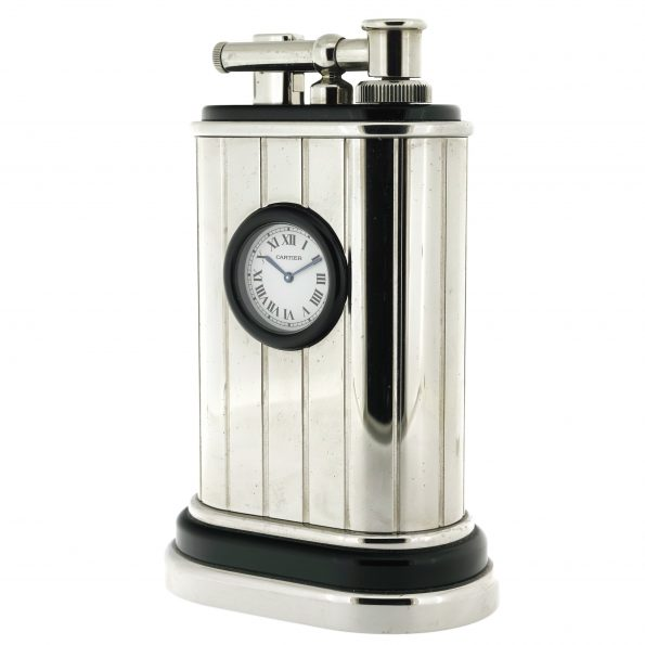 Cartier Table Lighter Clock Limited Edition