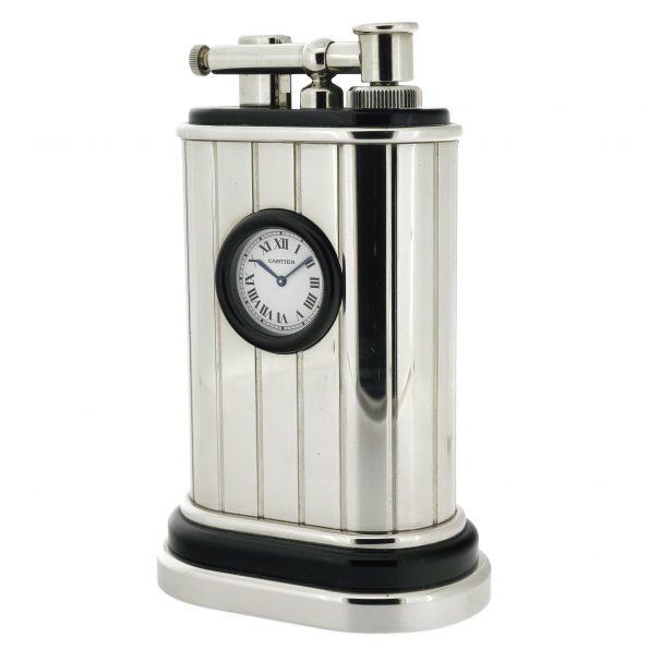 CARTIER Table Lighter Clock 0390/1000