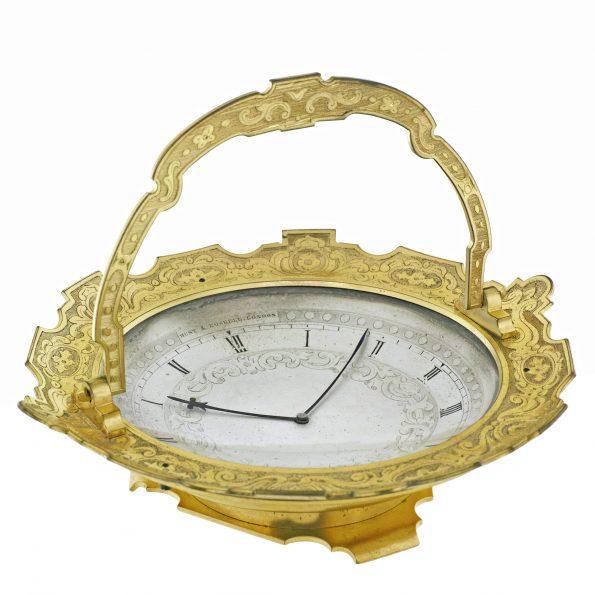 "Thomas Cole ""Bonbon Dish"" Clock"