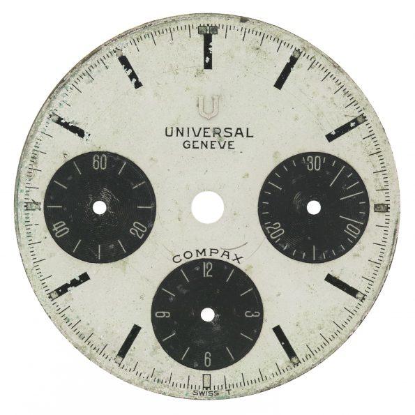Universal Geneve Compax Nina Rindt Dial