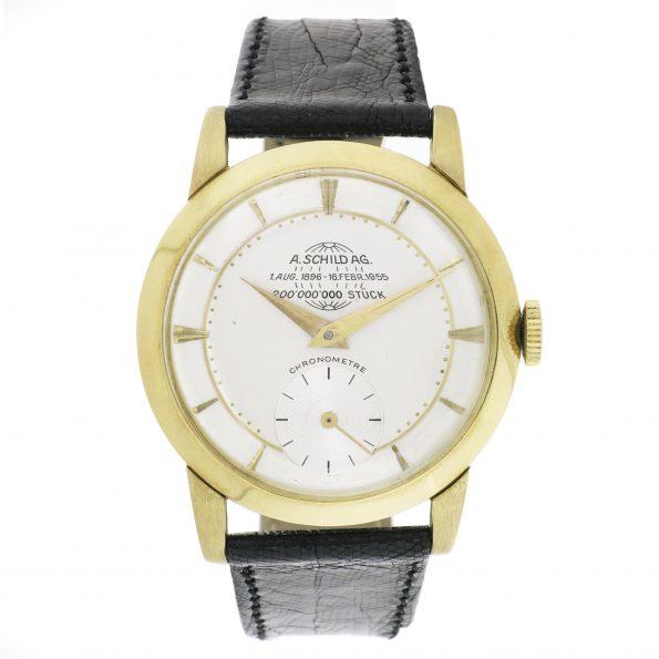 A. Schild (AS) 18k Chronometer, 1955