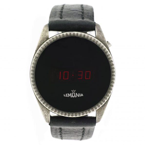 Lemaina LED Silver Watch