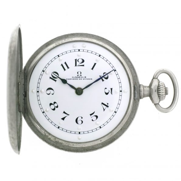 Omega Braille Tactile pocket watch for blind people, Ref. AA 241 LV