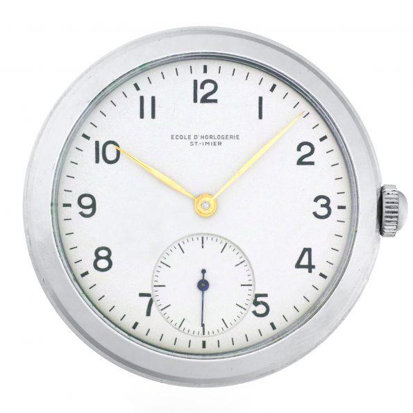 Ecole d'Horlogerie St.Imier, Cal. Peseux 260 Chronometer school watch