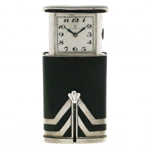 Omega Golf, Sterling Silver pocket/sliding watch, AR909
