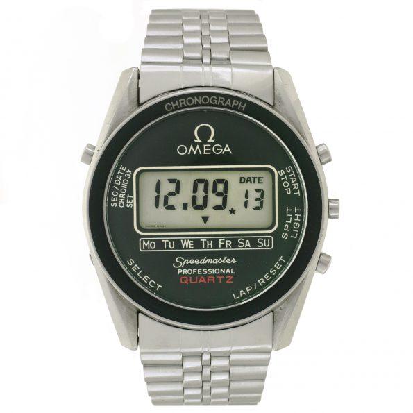 Omega Speedmaster Professional Quartz Ref. 186.0004 LCD chronograph