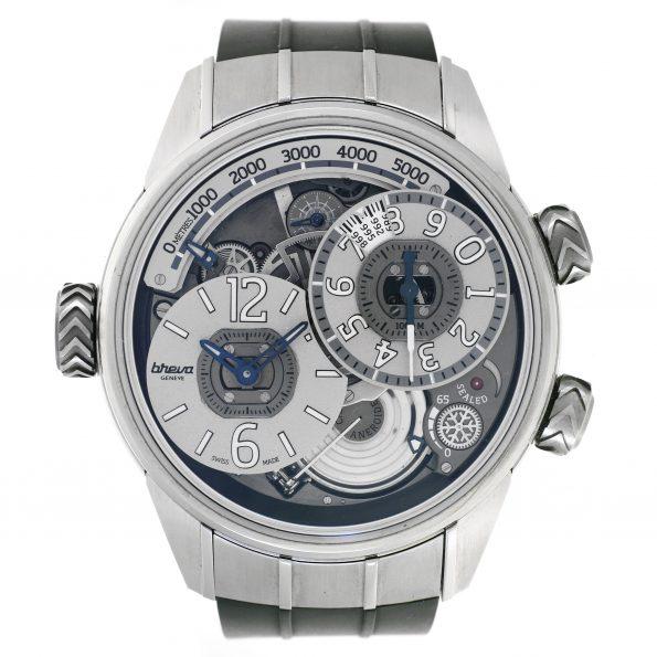 BREVA Génie 02 Terre Altimeter Watch