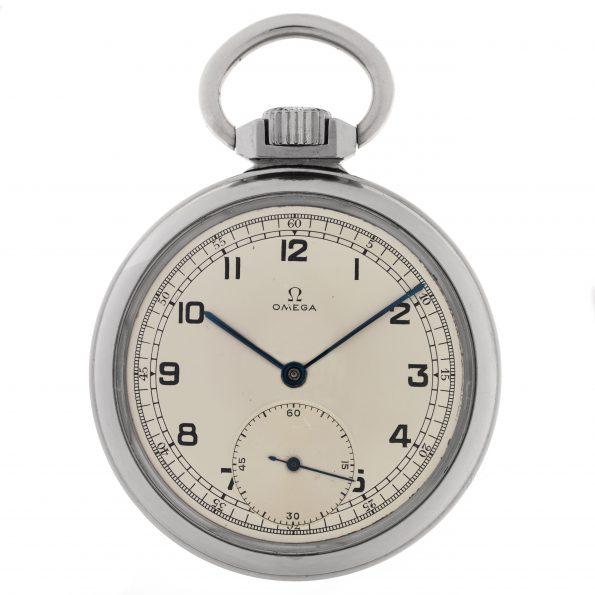 """Omega """"Étanche"""", Ref. CK 1064 Waterproof Pocket Watch"""