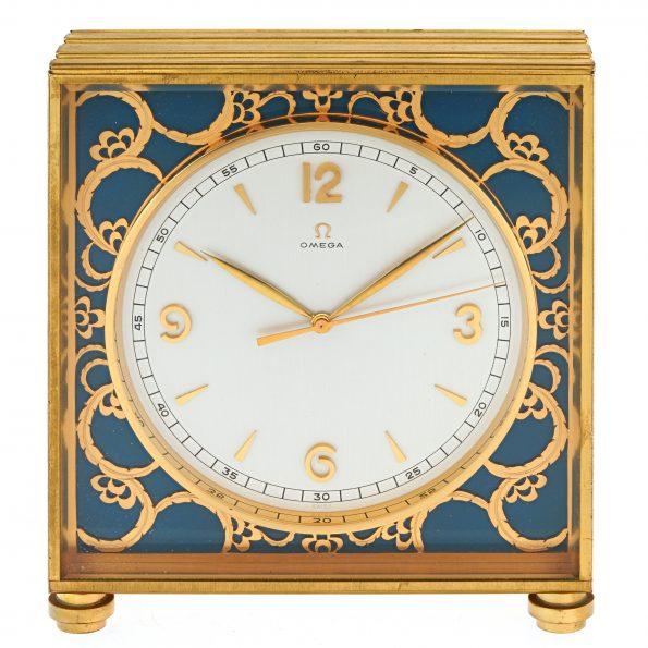 OMEGA Deluxe 8d Clock, Ref. 5506