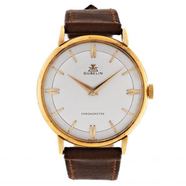 GÜBELIN Chronometer, Cal. Peseux 320