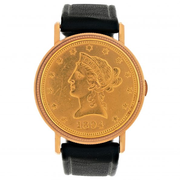 Le Regent Gullinan, CHATELAIN Geneve,Coin Watch, Ref. 6068